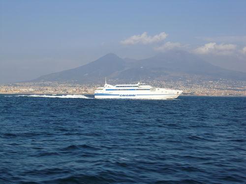 イタリア輸入食材のナビゲーター・ベリタリア-船